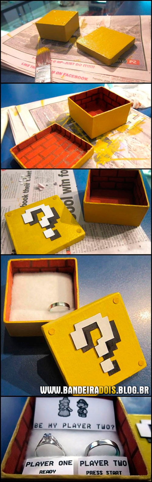 Casamento de nerd