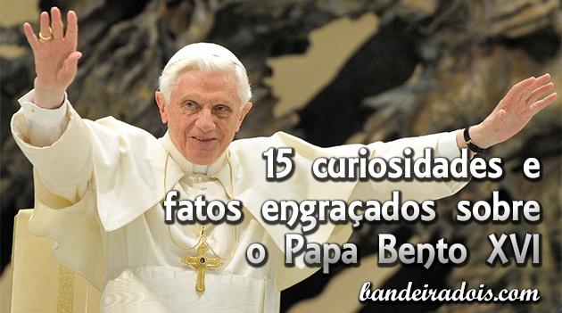 15 curiosidades sobre o Papa Bento XVI