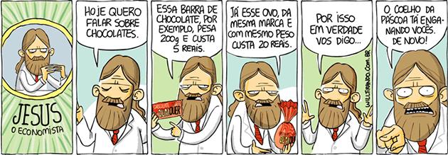 Jesus, o economista