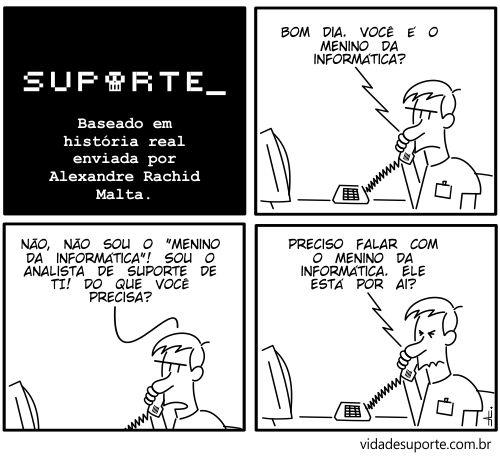 Menino da informática
