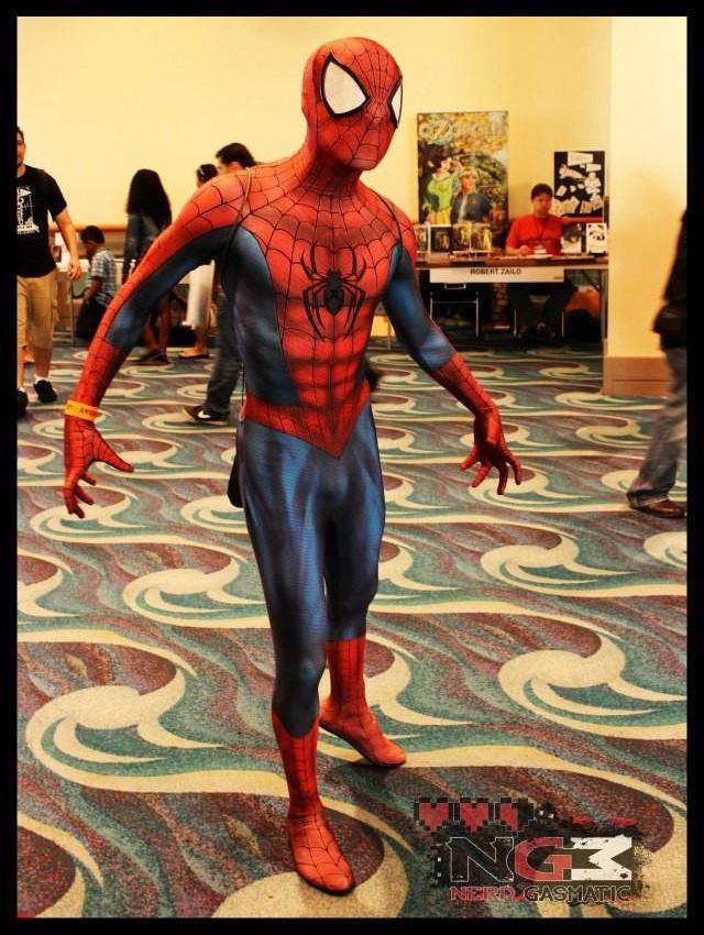 Fantasia Homem Aranha