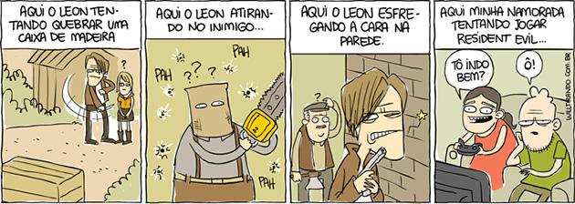 Leon desorientado
