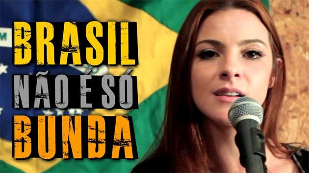 O Brasil não é só bunda