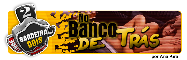 No banco de trás