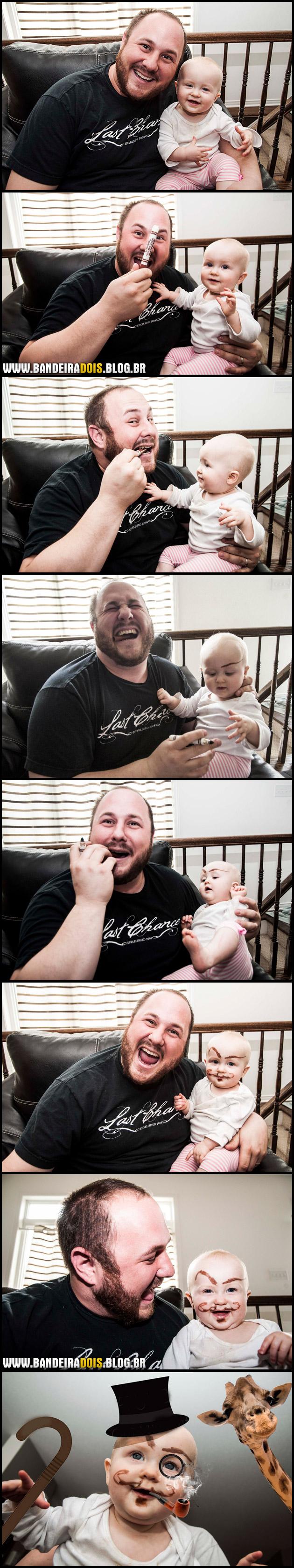 Pai cuidando do bebê #2