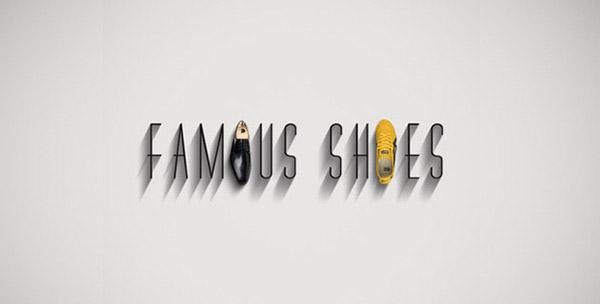 Sapatos dos famosos
