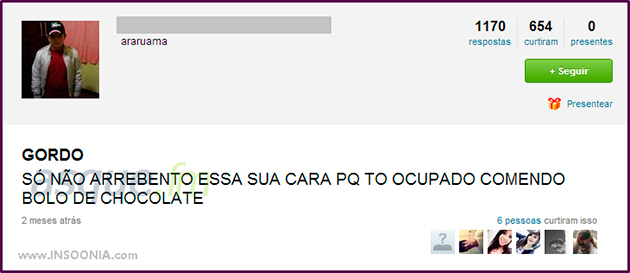 Os mais sinceros do Ask.fm