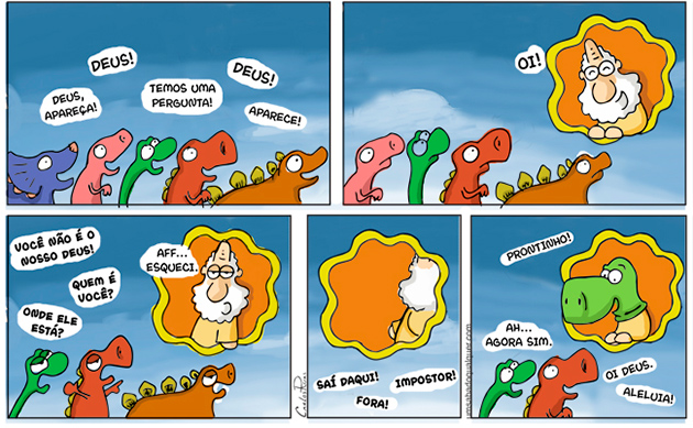 Deus Dinossauro