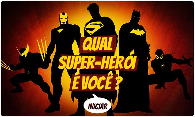 Teste Super-Herói