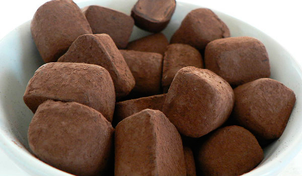 Chocolate que não é chocolate