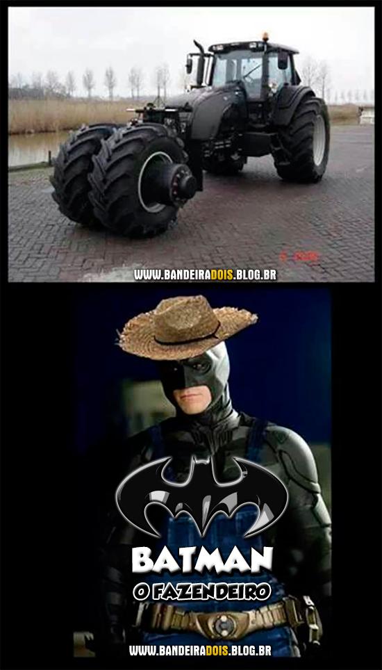 Batman, o fazendeiro