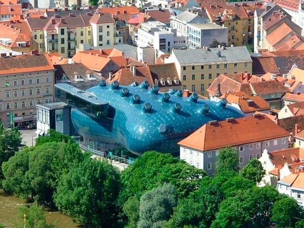 Kunsthaus Graz, Áustria