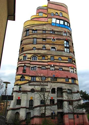 Hundertwasser Building, Áustria