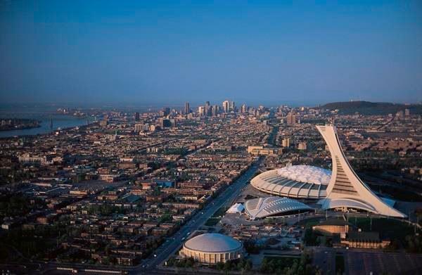 Estádio Olímpico de Montreal, Canadá