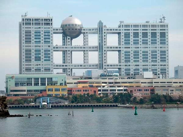 Edifício da Televisão Fuji, Tóquio