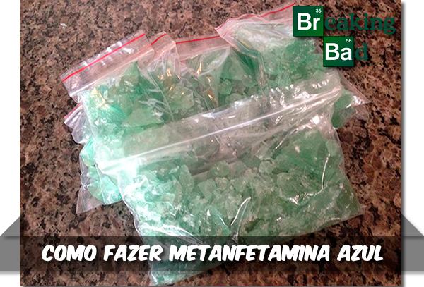 Como fazer a metanfetamina azul de Breaking Bad