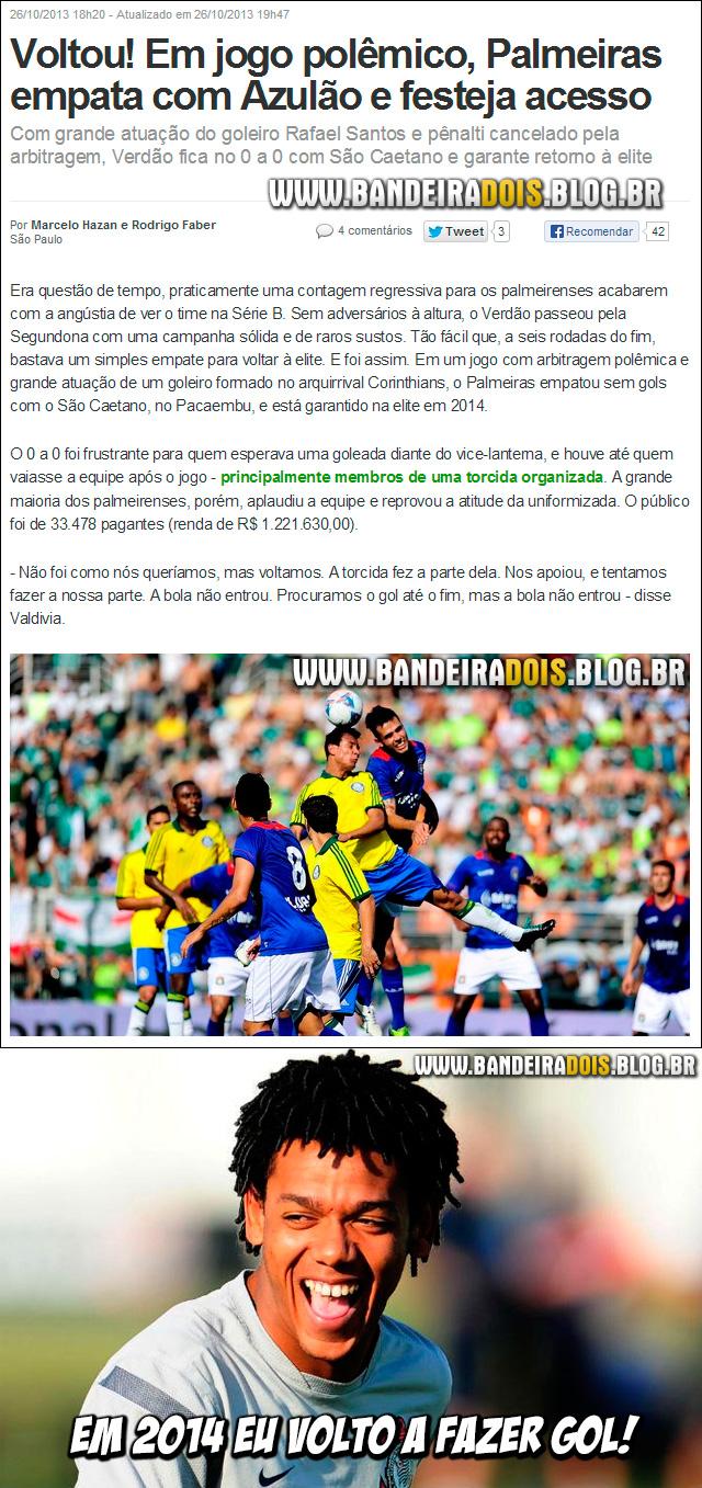Palmeiras de vola a série A