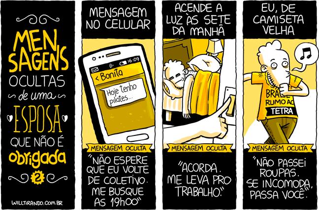 mensagens ocultas